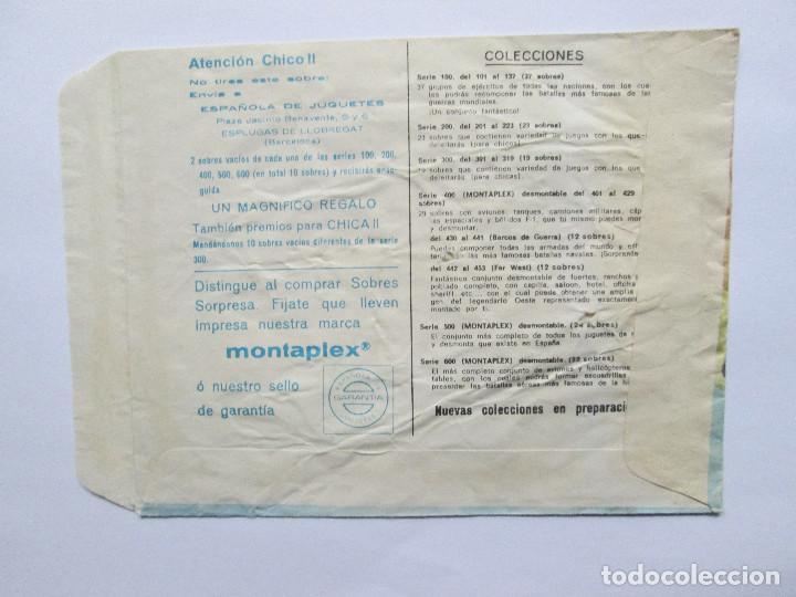 Figuras de Goma y PVC: SOBRE VACIO MONTAPLEX - ALEMANIA - GRUPO DE COMBATE Nº 101 - Foto 2 - 240460850