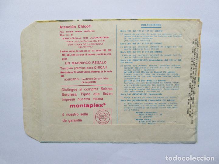Figuras de Goma y PVC: SOBRE VACIO MONTAPLEX - CABALLERIA DE NAPOLEON Nº 141 - Foto 2 - 240461020