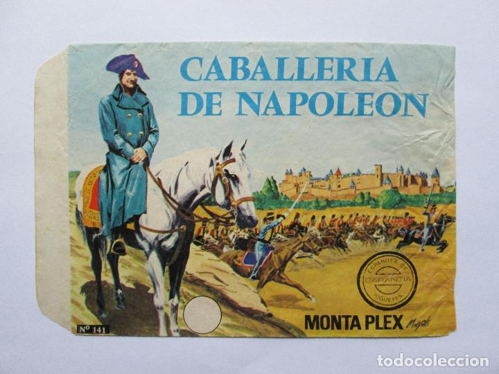 SOBRE VACIO MONTAPLEX - CABALLERIA DE NAPOLEON Nº 141 (Juguetes - Figuras de Goma y Pvc - Montaplex)
