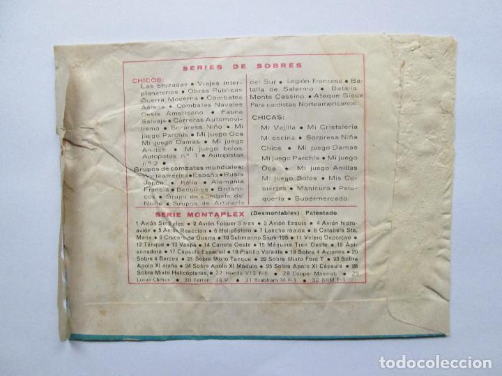 Figuras de Goma y PVC: SOBRE VACIO MONTAPLEX - COMANDOS BRITANICOS DEL DESIERTO - SEGUNDA GUERRA MUNDIAL - Foto 2 - 240462875