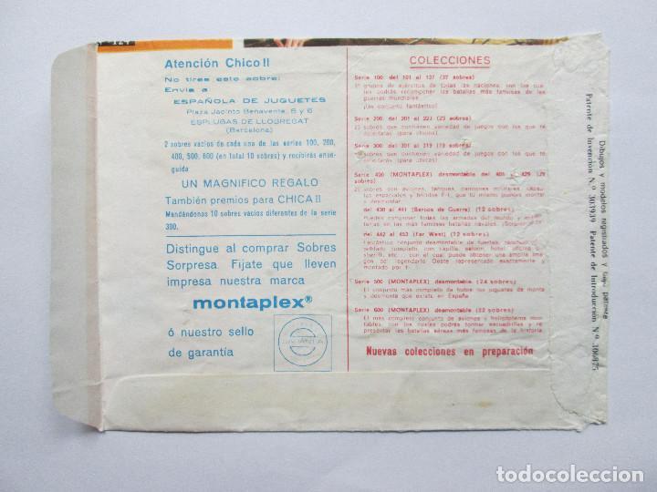 Figuras de Goma y PVC: SOBRE VACIO MONTAPLEX - NORMANDIA - GRUPOS DE COMBATE - USA E INGLATERRA - Foto 2 - 240463080