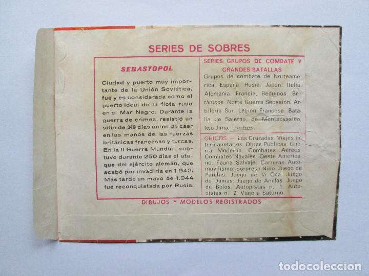 Figuras de Goma y PVC: SOBRE VACIO MONTAPLEX - SEBASTOPOL - GRUPOS DE COMBATE - ALEMANIA Y URSS - Foto 2 - 240463290