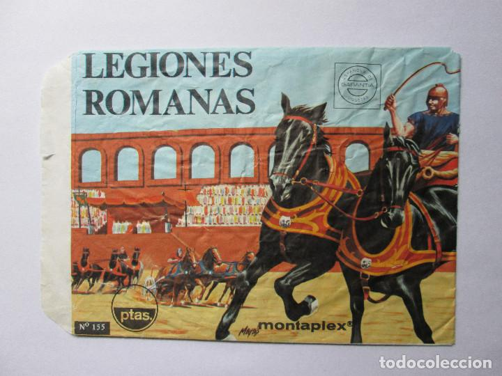 SOBRE VACIO MONTAPLEX - LEGIONES ROMANAS Nº 155 (Juguetes - Figuras de Goma y Pvc - Montaplex)
