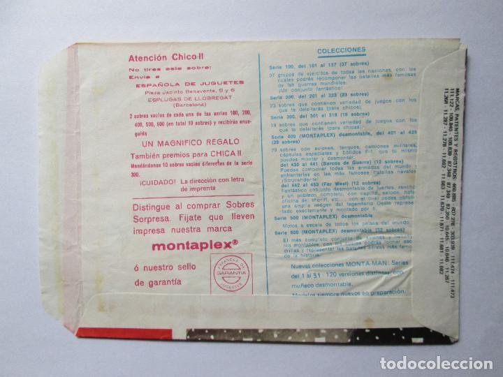 Figuras de Goma y PVC: SOBRE VACIO MONTAPLEX - SEBASTOPOL - GRUPOS DE COMBATE - ALEMANIA Y URSS - Foto 2 - 240466270