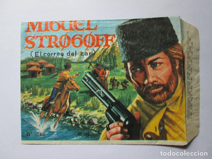 SOBRE VACIO MONTAPLEX - MIGUEL STROGOFF (EL CORREO DEL ZAR) HOBBY - PLAST (Juguetes - Figuras de Goma y Pvc - Montaplex)