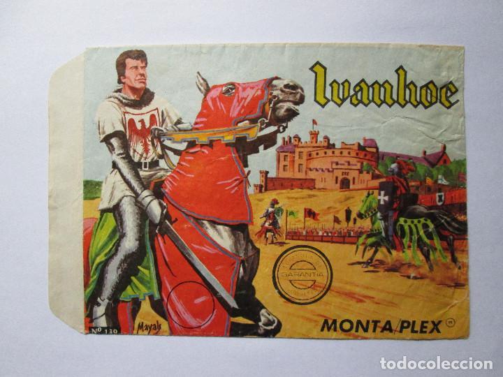 SOBRE VACIO MONTAPLEX - IVANHOE Nº 139 (Juguetes - Figuras de Goma y Pvc - Montaplex)