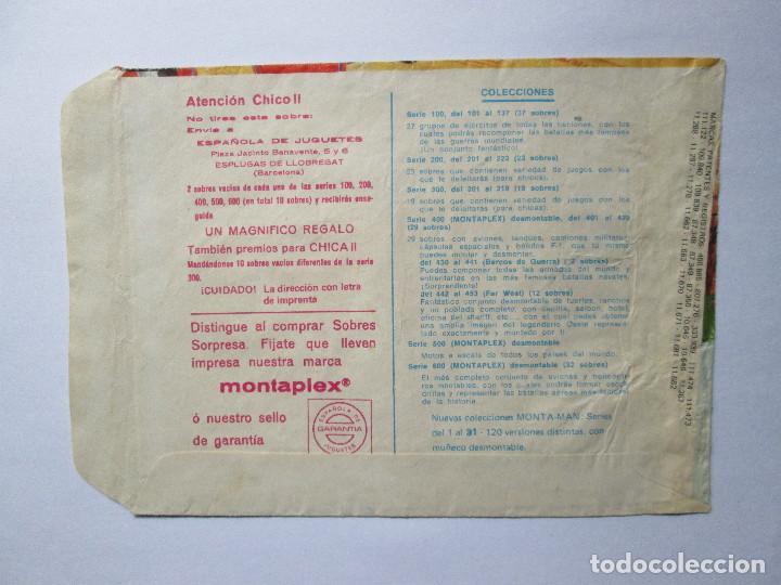 Figuras de Goma y PVC: SOBRE VACIO MONTAPLEX - IVANHOE Nº 139 - Foto 2 - 240466655