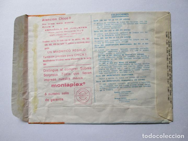 Figuras de Goma y PVC: SOBRE VACIO MONTAPLEX - KRASSNYJ BOR - GRUPOS DE COMBATE DE ESPAÑA URSS - Foto 2 - 240466990