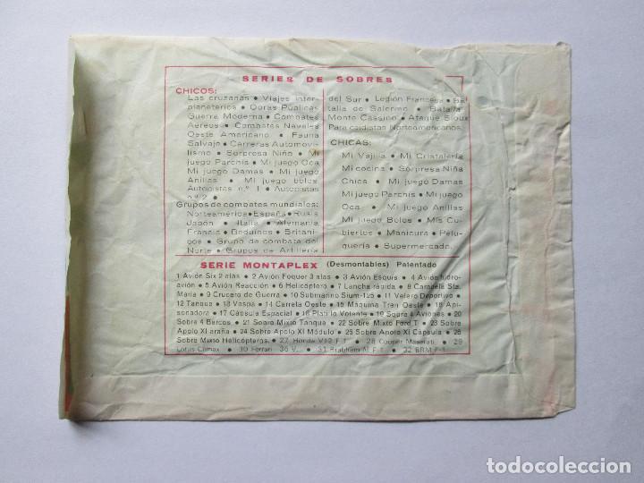 Figuras de Goma y PVC: SOBRE VACIO MONTAPLEX - COMANDOS FRANCESES - SEGUNDA GUERRA MUNDIAL - Foto 2 - 240467360
