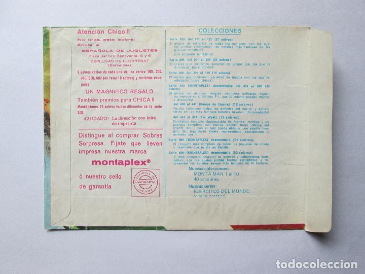 Figuras de Goma y PVC: SOBRE VACIO MONTAPLEX - ITALIA - EJERCITOS Y ARMAS Nº3003 - Foto 2 - 240467605