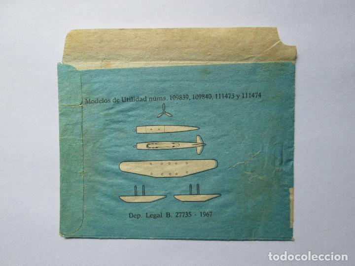 Figuras de Goma y PVC: SOBRE VACIO MONTAPLEX - HIDROAVION - Foto 2 - 240468270