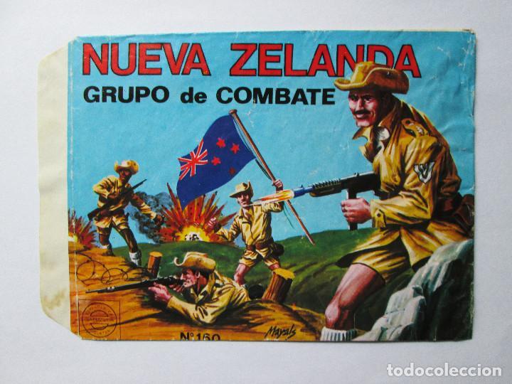 SOBRE VACIO MONTAPLEX - NUEVA ZELANDA - GRUPO DE COMBATE Nº 170 (Juguetes - Figuras de Goma y Pvc - Montaplex)