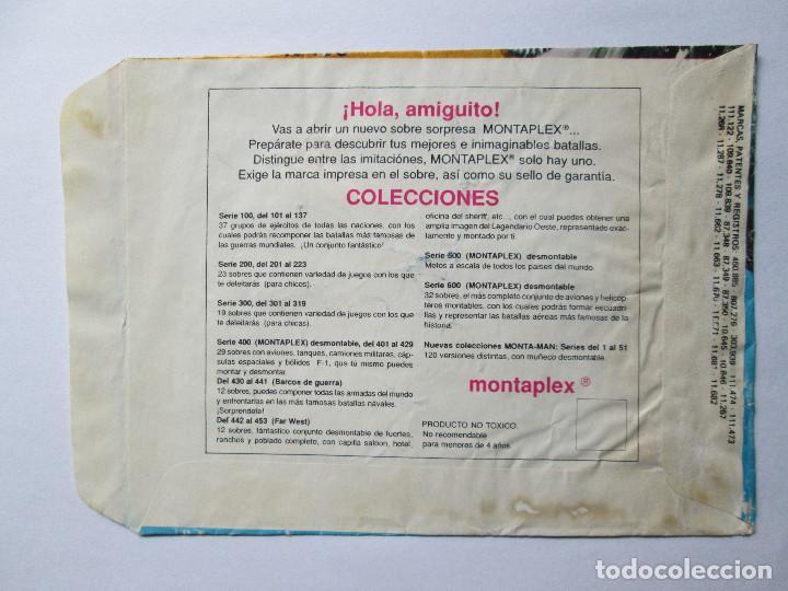 Figuras de Goma y PVC: SOBRE VACIO MONTAPLEX - NUEVA ZELANDA - GRUPO DE COMBATE Nº 170 - Foto 2 - 240468345