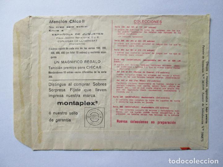 Figuras de Goma y PVC: SOBRE VACIO MONTAPLEX - BATALLA DE MONTE CASSINO - GUERRA MODERNA - Foto 2 - 240469440