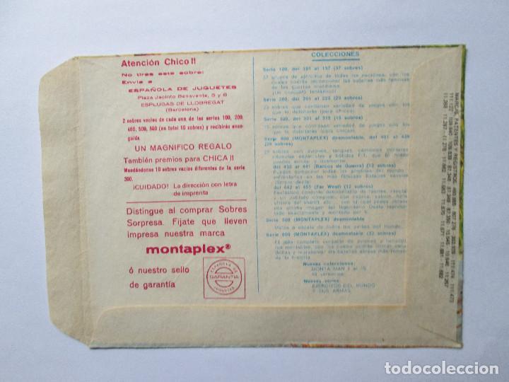 Figuras de Goma y PVC: SOBRE VACIO MONTAPLEX - ESPAÑA - INFANTERIA Nº 105 - Foto 2 - 240469525