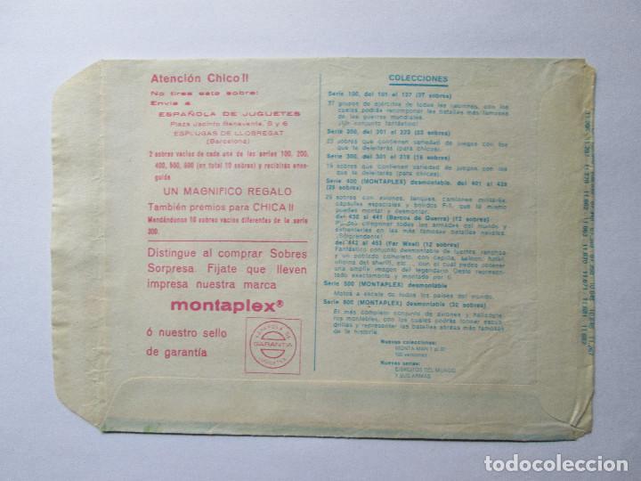 Figuras de Goma y PVC: SOBRE VACIO MONTAPLEX - NORTEAMERICA - CONFEDERADOS - Foto 2 - 240469885