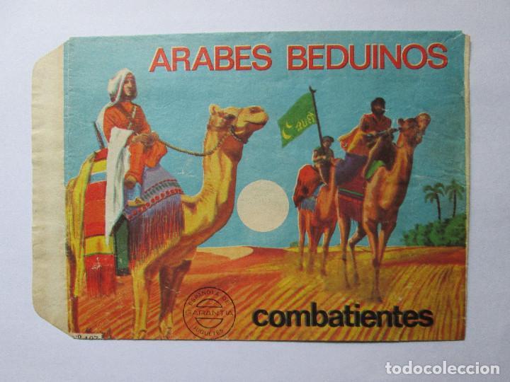 SOBRE VACIO MONTAPLEX - ARABES BEDUINOS Nº 102 (Juguetes - Figuras de Goma y Pvc - Montaplex)