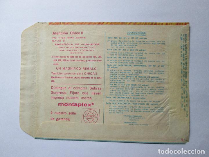 Figuras de Goma y PVC: SOBRE VACIO MONTAPLEX - ARABES BEDUINOS Nº 102 - Foto 2 - 240470095