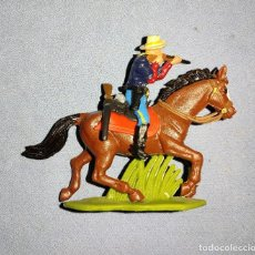 Figuras de Goma y PVC: FIGURA A CABALLO DE BRITAINS 7º DE CABALLERIA EN EXCELENTE ESTADO Nº 2. Lote 240507470