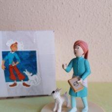 Figuras de Goma y PVC: FIGURA TINTIN Y MILÚ - LOS CIGARROS DEL FARAÓN- REF. 43107 (MOULINSART 2007). Lote 231825795