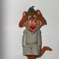 Figuras de Goma y PVC: MUÑECO SUPERFISGON Y DESPISTADO. JECSAN, O HANNA BARBERA PRODUCTIONS. AÑOS 50.. Lote 240644325