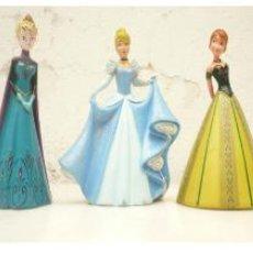 Figuras de Goma y PVC: LOTE. SULTÁN ALADDIN, 3 PRINCESA DISNEY: CENICIENTA, ANNA Y ELSA DE FROZEN Y MY LITTLE PONY PEINADOS. Lote 240733155