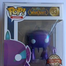 Figuras de Goma y PVC: FUNKO POP! MURLOC 33 - WORLD OF WARCRAFT WOW (EXCLUSIVO) + CAJA PROTECTORA. Lote 240782480
