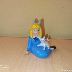 Figuras de Goma y PVC: FIGURA CLARA PERSONAJE DE HEIDI COMICS SPAIN AÑOS 80 GATO PVC. Lote 207182847
