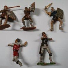 Figuras de Goma y PVC: LOTE DE 5 FIGURAS MEDIEVALES REAMSA. AÑOS 60. 84.. Lote 240865750