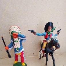 Figuras de Goma y PVC: INDIOS LAFREDO. Lote 241050290