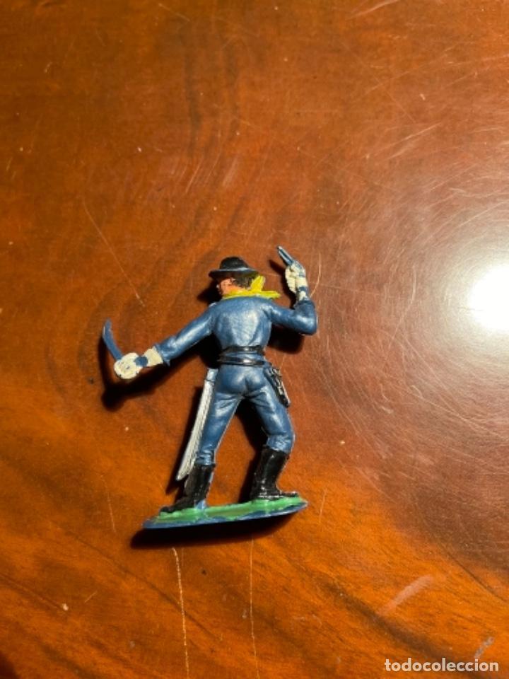 Figuras de Goma y PVC: Federal Yankee Séptimo Caballería, plástico duro Pech jecsan u otro original años 60 70 - Foto 3 - 241208180