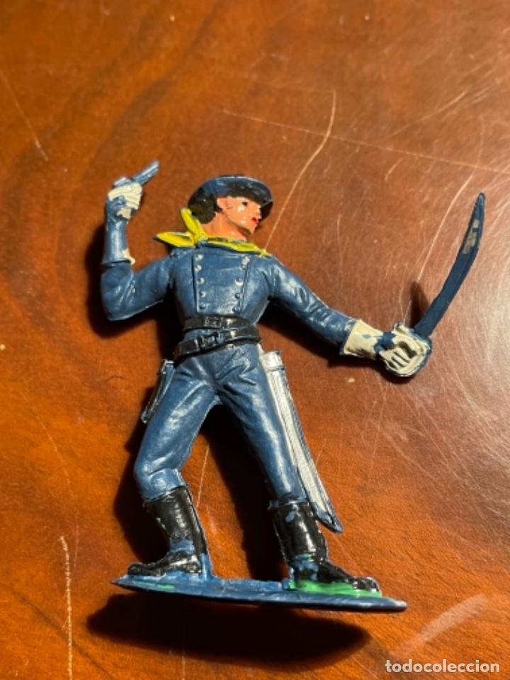 Figuras de Goma y PVC: Federal Yankee Séptimo Caballería, plástico duro Pech jecsan u otro original años 60 70 - Foto 7 - 241208180
