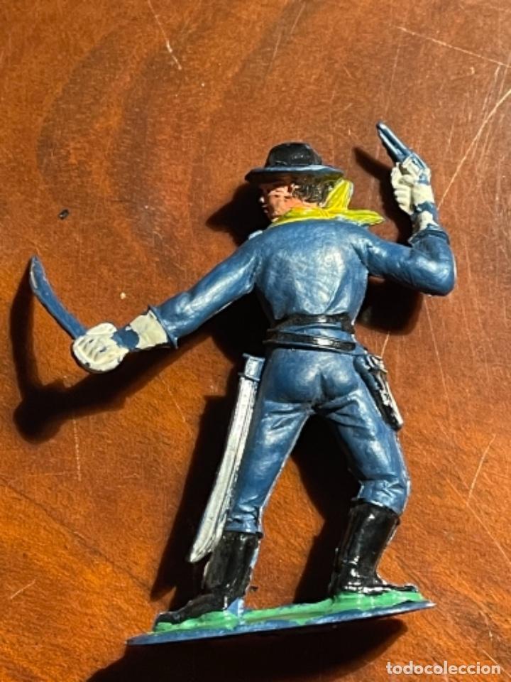 Figuras de Goma y PVC: Federal Yankee Séptimo Caballería, plástico duro Pech jecsan u otro original años 60 70 - Foto 11 - 241208180