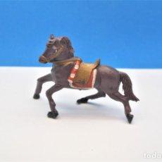 Figuras de Goma y PVC: ANTIGUA FIGURA EN PLÁSTICO. CABALLO DE TEIXIDO.. Lote 241277155