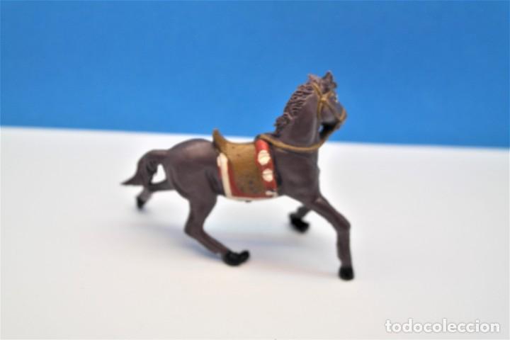 Figuras de Goma y PVC: Antigua Figura en Plástico. Caballo de Teixido. - Foto 2 - 241277155