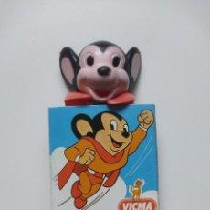Figuras de Goma y PVC: SUPER RATON, VICMA ,NUEVO EN SU EMBALAJE. Lote 241477190