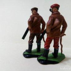 Figuras de Goma y PVC: LOTE BRITAINS DEETAIL 1971-CAZADORES. Lote 241530140