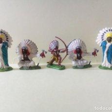 Figuras de Borracha e PVC: LOTE BRITAINS DEETAIL-APACHES. Lote 241539330