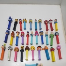 Figuras de Borracha e PVC: LOTE 32 DISPENSADORES DE CARAMELOS PEZ. Lote 241695950