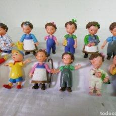 Figuras de Goma y PVC: LOTE LAS TRES MELLIZAS. MARCA YOLANDA. Lote 241704730