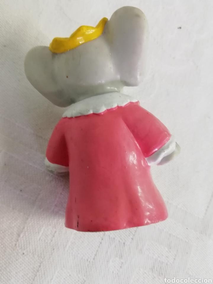 Figuras de Goma y PVC: Figura Elefante 1990 - Foto 2 - 241705310