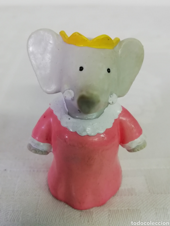 FIGURA ELEFANTE 1990 (Juguetes - Figuras de Goma y Pvc - Otras)