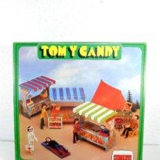 Figuras de Borracha e PVC: TOM Y CANDY CARNICERÍA - COMANSI. Lote 241731605