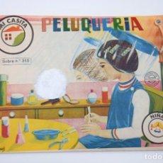 Figuras de Goma y PVC: MONTAPLEX - SOBRE SORPRESA CERRADO NIÑA - PELUQUERÍA Nº 315 - AÑOS 70. Lote 241752220