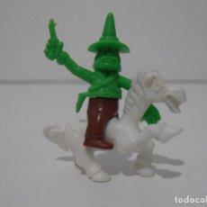Figuras de Borracha e PVC: FIGURA DUNKIN CUATRERO A CABALLO. Lote 241818465