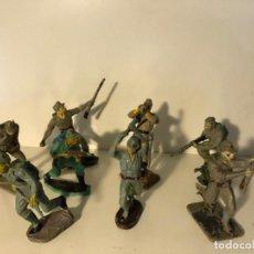 Figuras de Goma y PVC: LOTE 8 FIGURAS SOLDADOS JAPONESES. HERMANOS PECH. BUEN ESTADO.. Lote 241909800