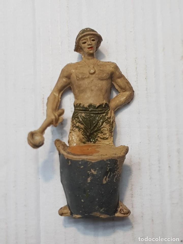 FIGURA PRISIONERO DEL RÍO KWAI EN GOMA DE JECSAN (Juguetes - Figuras de Goma y Pvc - Jecsan)