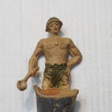 Figuras de Goma y PVC: FIGURA PRISIONERO DEL RÍO KWAI EN GOMA DE JECSAN. Lote 241941960
