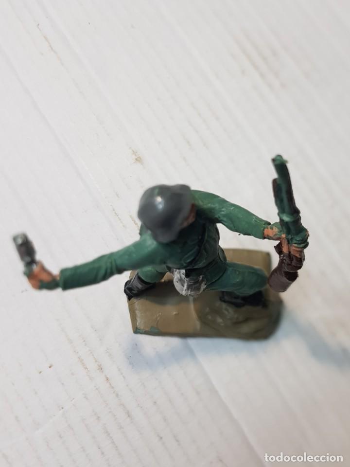 Figuras de Goma y PVC: Figura en PVC Soldado Alemán lanzando Granada Pech escasa - Foto 3 - 241957245