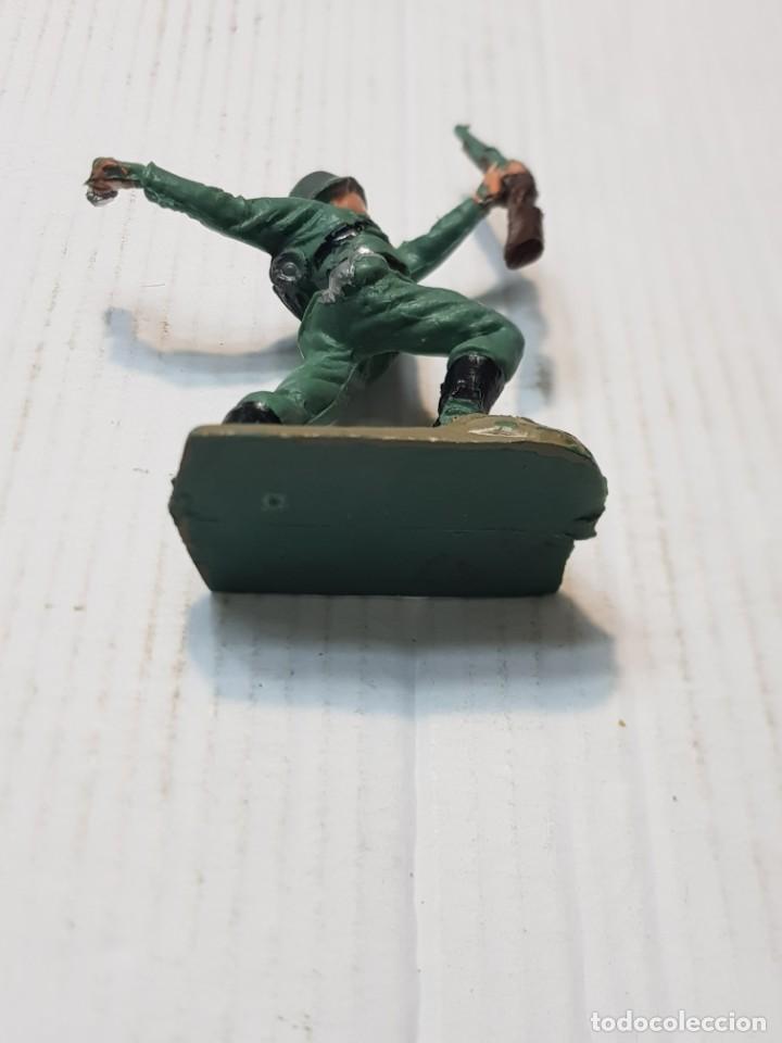Figuras de Goma y PVC: Figura en PVC Soldado Alemán lanzando Granada Pech escasa - Foto 4 - 241957245